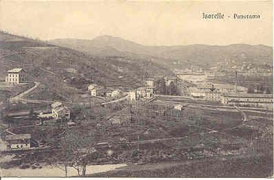 Isorelle, sulla destra La Filanda
