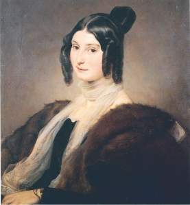 Hayez - Ritratto Clara Maffei